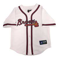 Atlanta Braves Majestic Child Home Replica Baseball Jersey