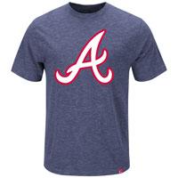 Atlanta Braves Mental Metal Slub T-Shirt