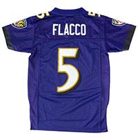 Baltimore Ravens Joe Flacco NFL Team Apparel Youth Limited Replica Football
