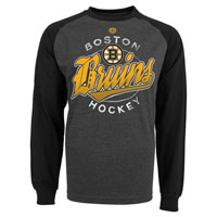 Boston Bruins Harmell Raglan Long Sleeve Jersey T-Shirt