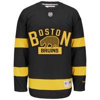 Boston Bruins Reebok 2016-17 NHL Premier Replica Alternate Jersey
