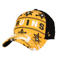 Boston Bruins Reindeer ZFit Flex Cap