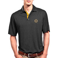 Boston Bruins Shadow Text Evolve Polo
