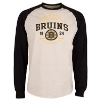 Boston Bruins Twigs Raglan Long Sleeve Jersey T-Shirt