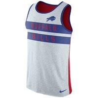 Buffalo Bills NFL Nike Stripe Tri-Blend Tank Top