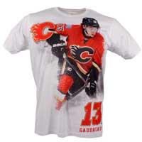 Calagary Flames Johnny Gaudreau YOUTH FX Highlight Reel Kewl-Dry T-Shirt