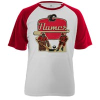 Calgary Flames Table Top FX Raglan T-Shirt
