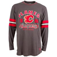 Calgary Flames Yutan Long Sleeve Jersey T-Shirt
