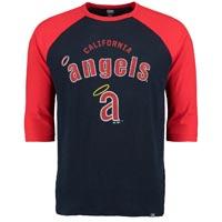 California Angels Cooperstown Don't Judge 3/4 Raglan T-Shirt