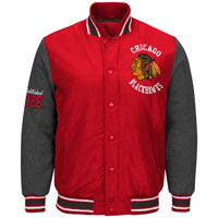 Chicago Blackhawks Original Premium Varsity Jacket