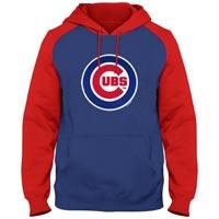 Chicago Cubs Twill Logo Raglan Express Hoody