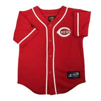 Cincinnati Reds Majestic Child Alternate Replica Baseball Jersey (Scarlet)