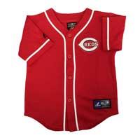 Cincinnati Reds Majestic Child Alternate Replica Baseball Jersey (Scarlet)