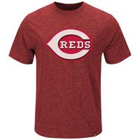 Cincinnati Reds Mental Metal Slub T-Shirt