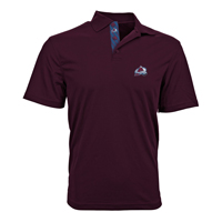 Colorado Avalanche Omaha Skate Lace Polo