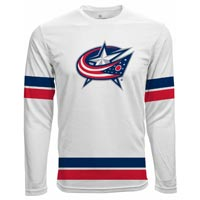 Columbus Blue Jackets Authentic Scrimmage FX Long Sleeve T-Shirt