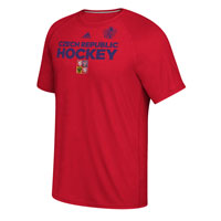 Czech Republic Hockey World Cup Of Hockey Team Font Go To T-Shirt (Red)