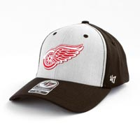 Detroit Red Wings Backstop Stretch Fit Cap