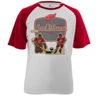 Detroit Red Wings Table Top FX Raglan T-Shirt