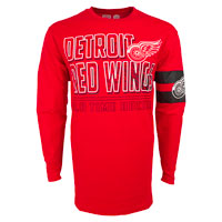 Detroit Red Wings YOUTH Bandit Long Sleeve T-Shirt