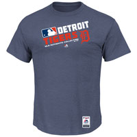 Detroit Tigers Authentic Collection Team Choice Heathered T-Shirt
