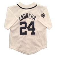 Detroit Tigers Miguel Cabrera Majestic Child Home Replica Baseball Jersey