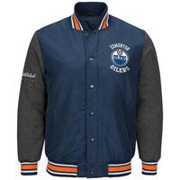 Edmonton Oilers Original Premium Varsity Jacket