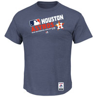 Houston Astros Authentic Collection Team Choice Heathered T-Shirt