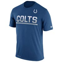 Indianapolis Colts NFL Nike Team Practice Light Speed Dri-FIT T-Shirt