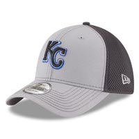 Kansas City Royals MLB New Era Grayed Out Neo 2 39THIRTY Cap