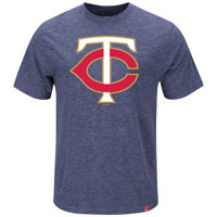 Minnesota Twins Mental Metal Slub T-Shirt