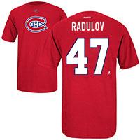 Montreal Canadiens Alexander Radulov Reebok NHL Player Name & Number T-Shirt