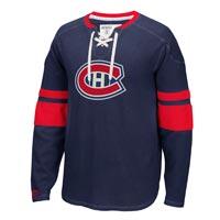 Montreal Canadiens CCM Retro Long Sleeve Jersey Crew