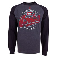 Montreal Canadiens Harmell Raglan Long Sleeve Jersey T-Shirt