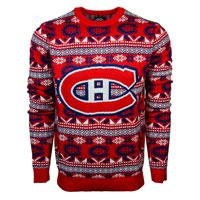 Montreal Canadiens NHL Big Logo Ugly Crewneck Sweater