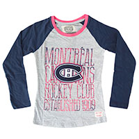 Montreal Canadiens YOUTH Harmony Long Sleeve T-Shirt