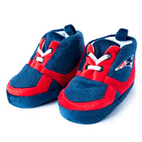 New England Patriots Sneaker Baby Booties