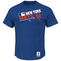 New York Mets Authentic Collection Team Choice Heathered T-Shirt