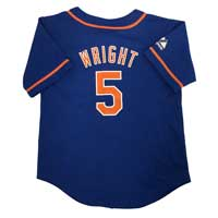 New York Mets David Wright Majestic Child Alternate Replica Baseball Jersey