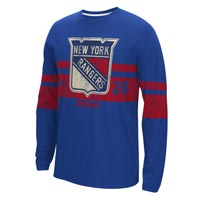 New York Rangers CCM Retro Long Sleeve T-Shirt