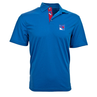 New York Rangers Omaha Skate Lace Polo