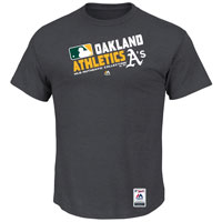 Oakland Athletics Authentic Collection Team Choice Heathered T-Shirt