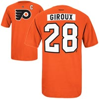 Philadelphia Flyers Claude Giroux Reebok NHL Player Name & Number T-Shirt