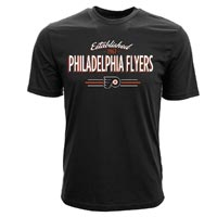 Philadelphia Flyers Crowned FX T-Shirt (Black)