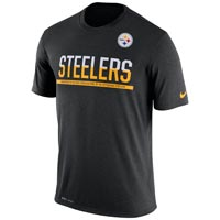 Pittsburgh Steelers NFL Nike Team Practice Light Speed Dri-FIT T-Shirt