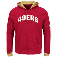 San Francisco 49ers Anchor Point Full Zip NFL Hoodie