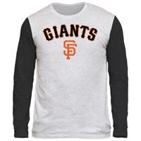 San Francisco Giants Shortstop Long Sleeve Tri-Blend T-Shirt