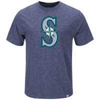 Seattle Mariners Mental Metal Slub T-Shirt