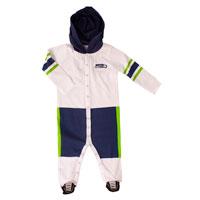 Seattle Seahawks Baby Runner Long Sleeve Coverall/Onesie