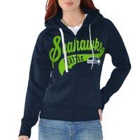 Seattle Seahawks Women's Game Day Full Zip Hoodie